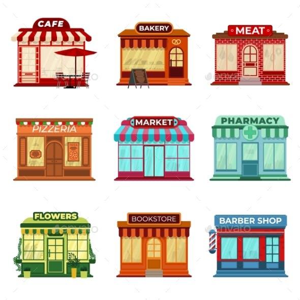 Shop Store Buildings