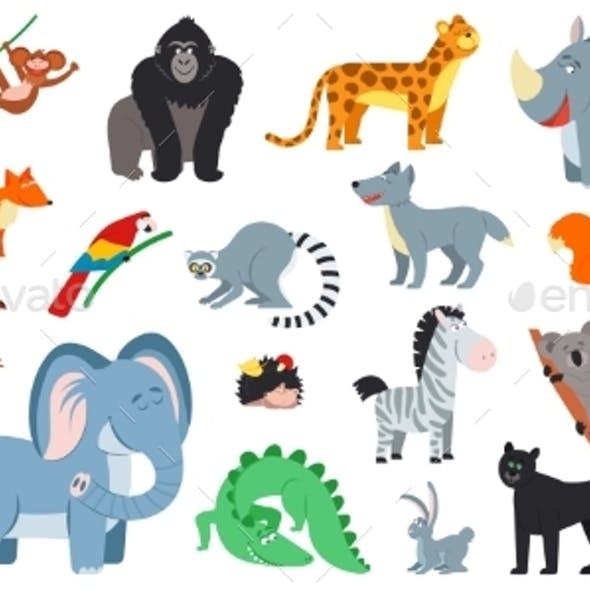 Exotic Forest Animals