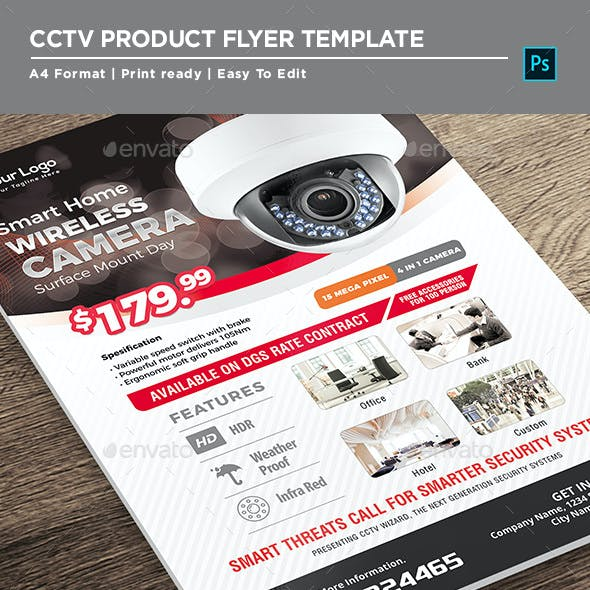 Product Flyer - CCTV Promotion