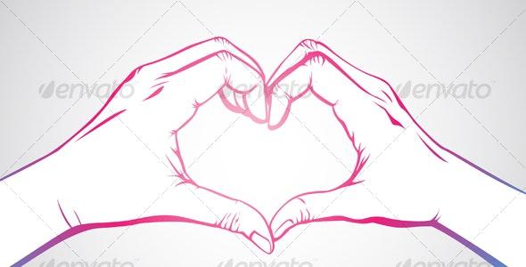 Love Sign - Decorative Symbols Decorative