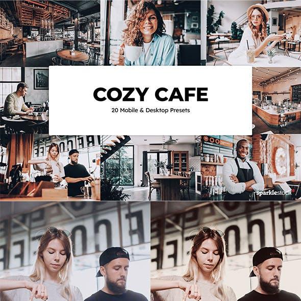 20  Cozy Cafe Lightroom Presets