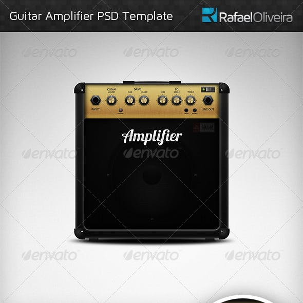 Guitar Amplifier PSD Template