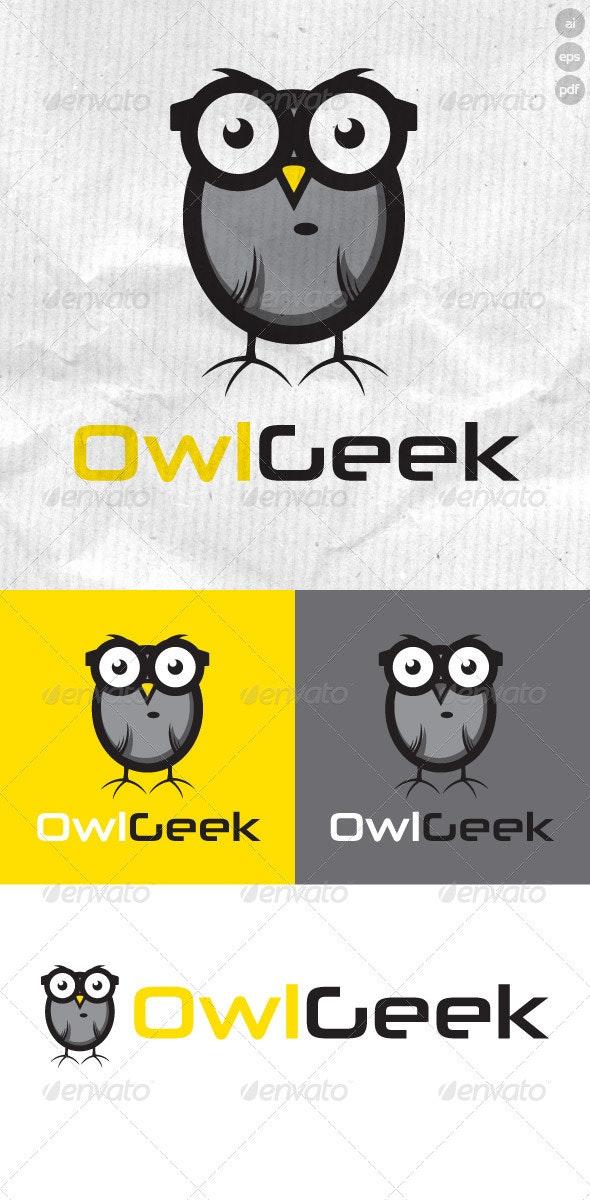OwlGeek Logo - Animals Logo Templates