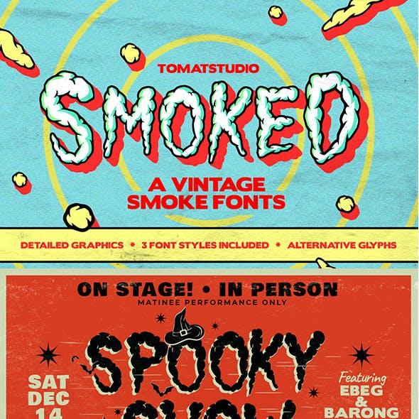 Vintage Smoke Fonts