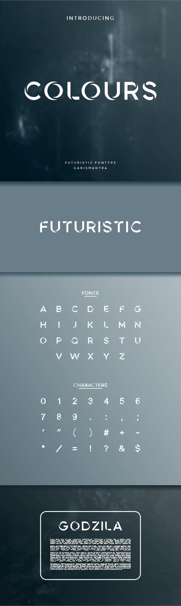 Colours - Futuristic Decorative