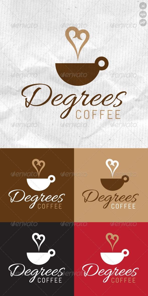 Degrees Coffee Logo - Food Logo Templates