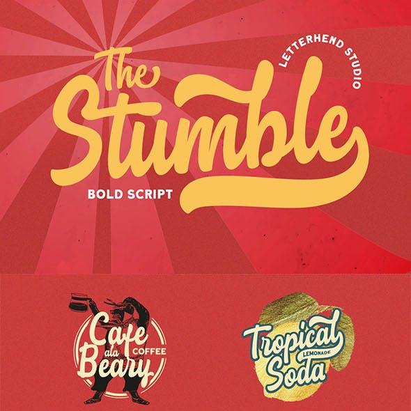 The Stumble - Retro Bold Script