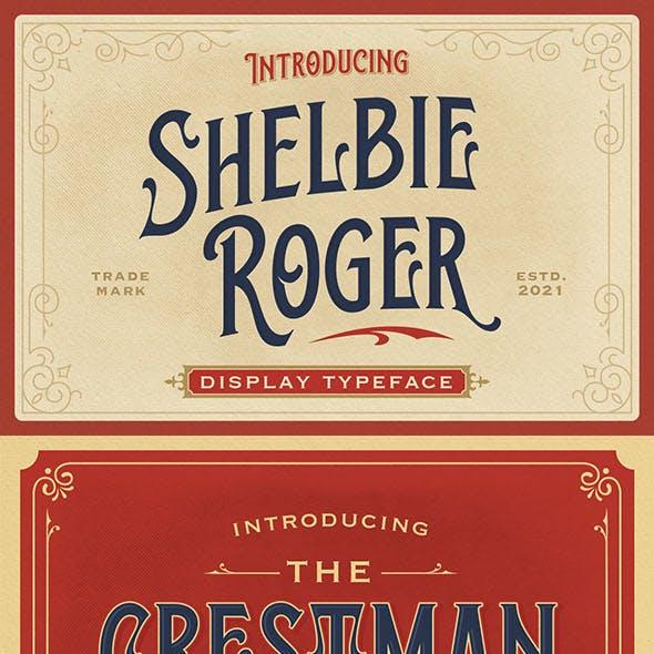 Shelbie Roger - Vintage Display Font