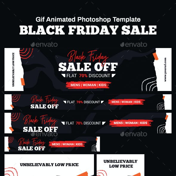 GIF Banners - Black Friday Banners Ad