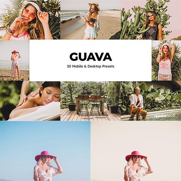 20  Guava Lightroom Presets