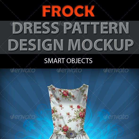 Frock Dress Design Mockup