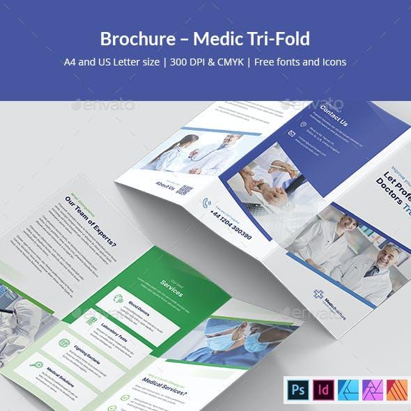 Brochure – Medic Tri-Fold