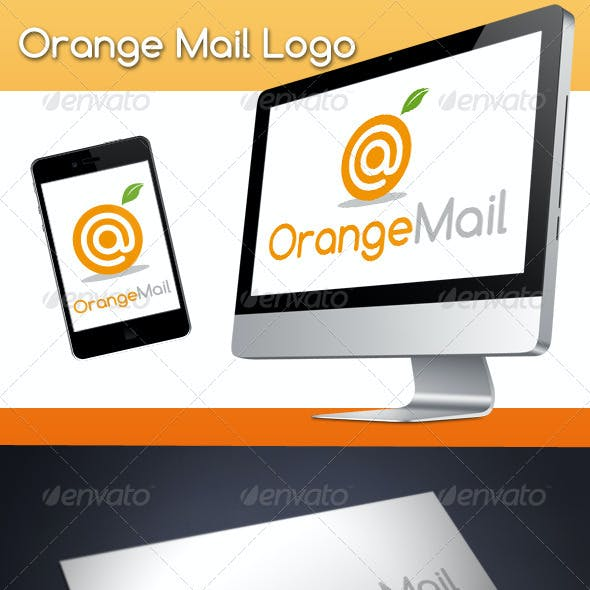 Orange Mail Logo