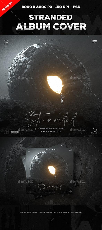 Stranded Album Cover Art - Social Media Web Elements