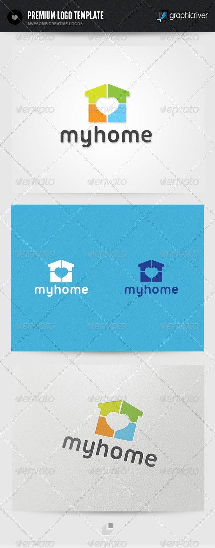 My Home Logo - Buildings Logo Templates