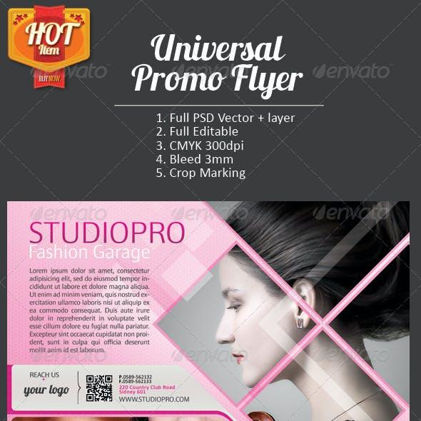 Universal Promo Flyer