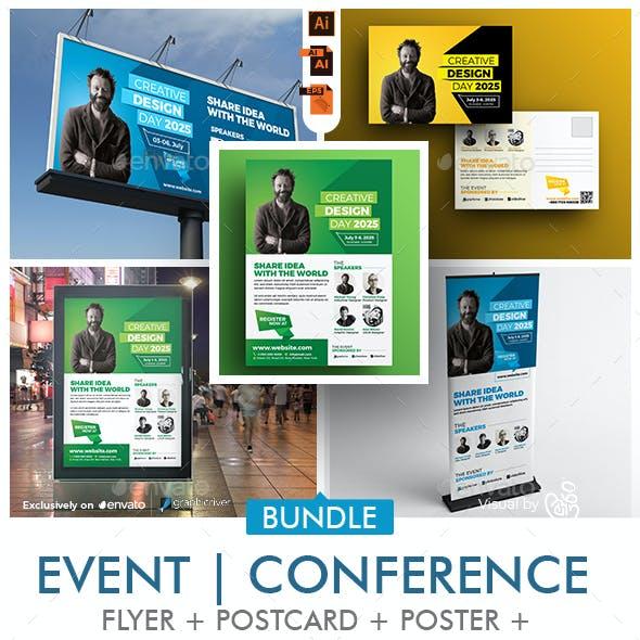 Event   Conference Print Template Bundle