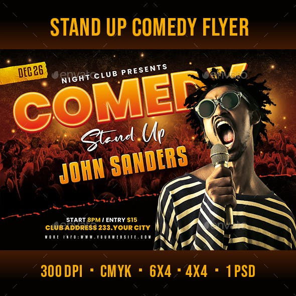 Stand Up Comedy Party