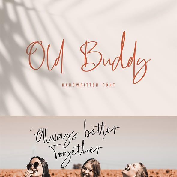 Old Buddy - Handwritten Font