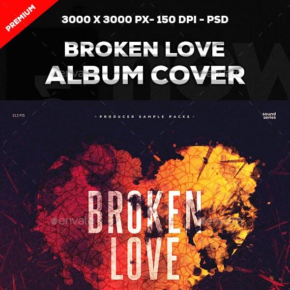 Broken Love Album Cover Art