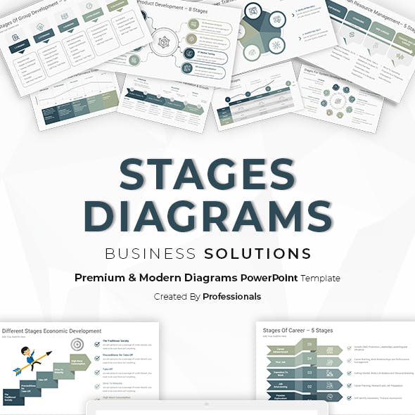 Stages Diagrams for PowerPoint Presentations