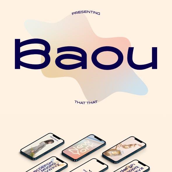 Baou Modern Display Sans