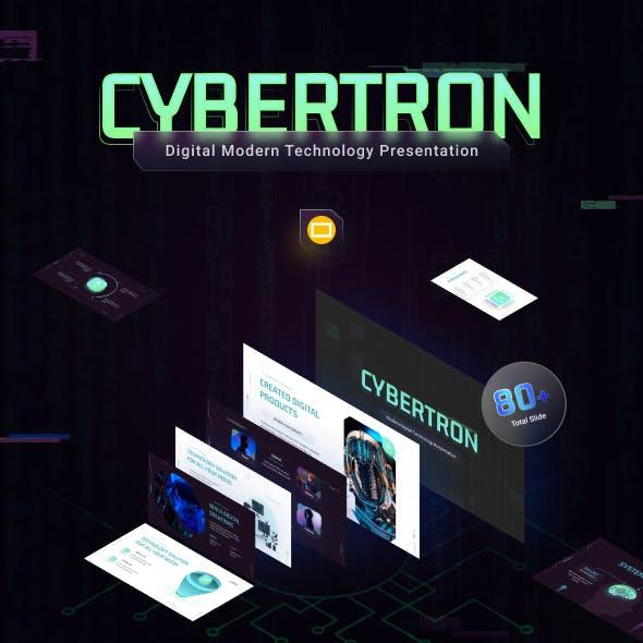 Cybertron Modern Technology Google Slide Template
