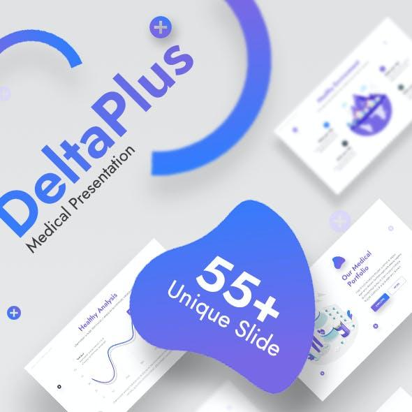 Deltaplus - Medical Modern Google Slides Template