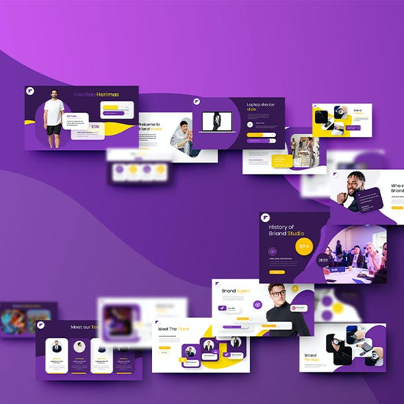Briand – Business Keynote Template