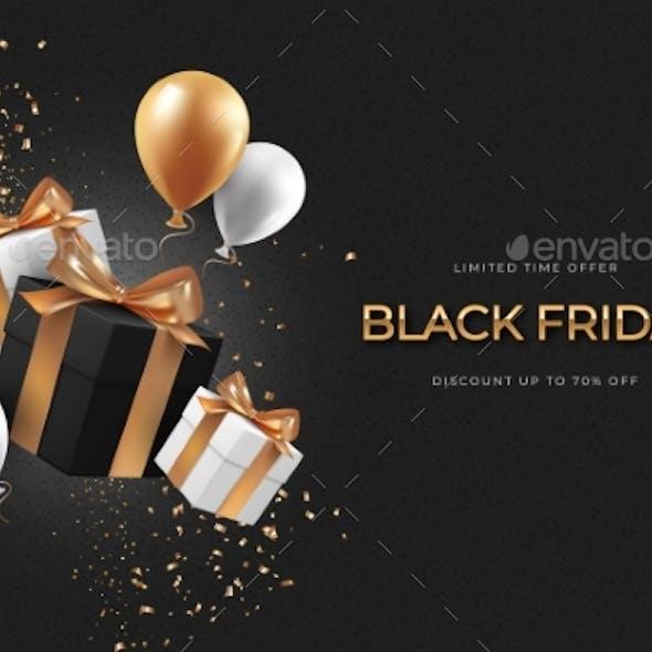 Black Friday Sale Web Banner Template