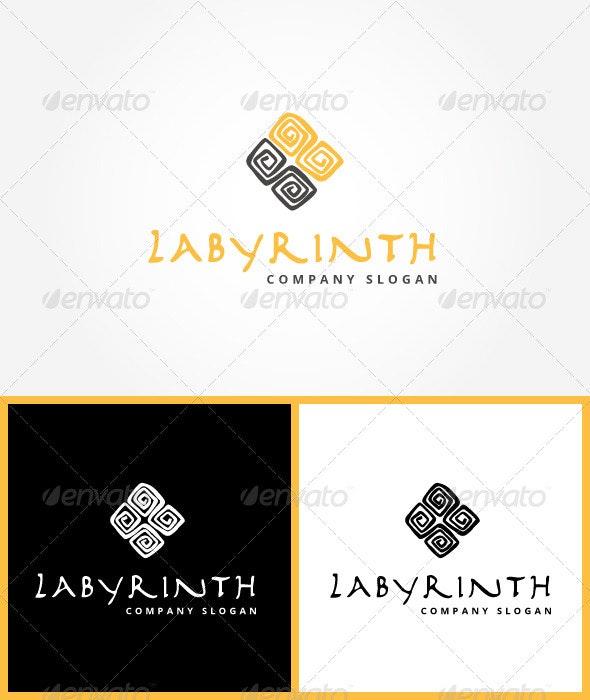 Logo Labyrinth - Abstract Logo Templates