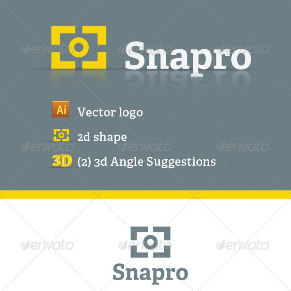 Snapro Logo Template