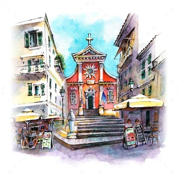 Sunny Kerkyra Corfu Greece
