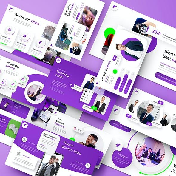 Blamond – Business Google Slides Template