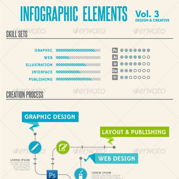 Infographic Elements - Vol. 3