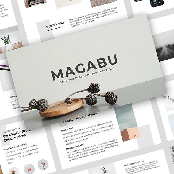 Magabu – Creative Business PowerPoint Template