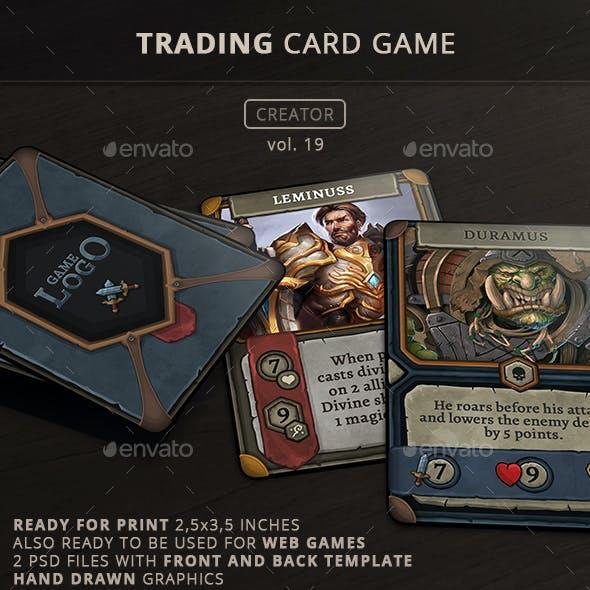 Trading Card Game Creator - Vol 19