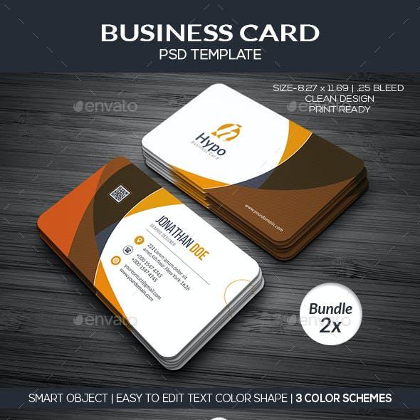 Business Card Bundle 2x