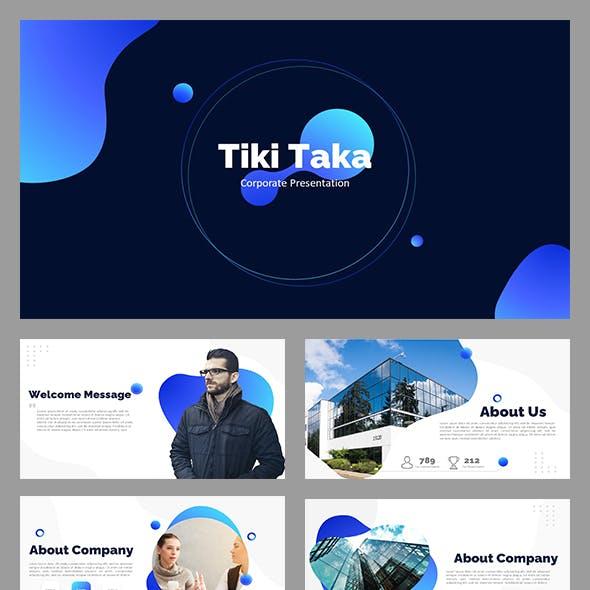 Tiki Taka PowerPoint Template