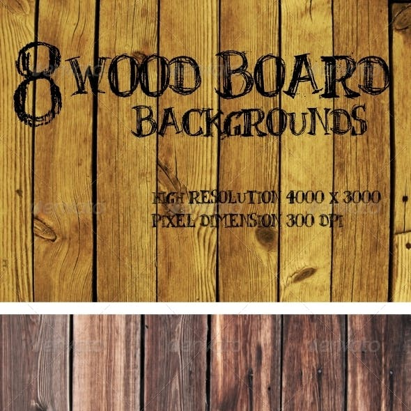 Wood Board Backgrounds