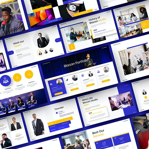 Blacan – Business PowerPoint Template
