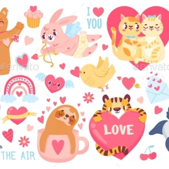 Valentines Day Animals