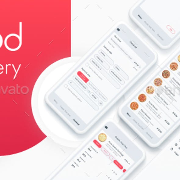Food Delivery Mobile Application - User Interface