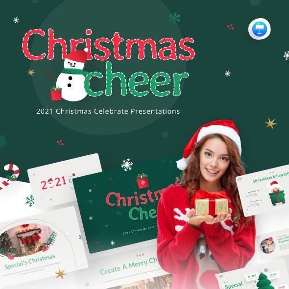 Christmas Cheer Creative Keynote Template