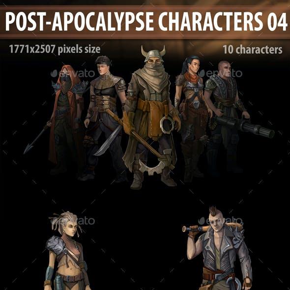 Post Apocalypse Characters 04