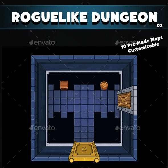 Top-Down Roguelike Dungeon Pack 02