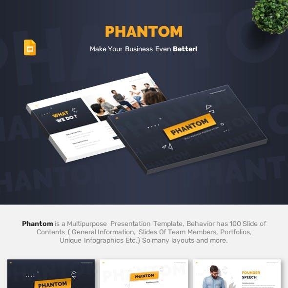 Phantom - Multipurpose Google Slides Template