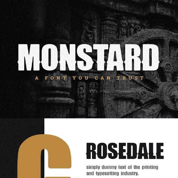 Monstard Font