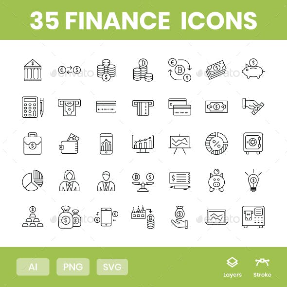 Finance - Icons Pack