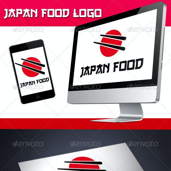 Japan Food Logo
